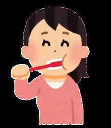 正しい歯磨き方法、うがい