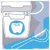 """デンタルフロスと歯間ブラシは、""""歯周病予防の強い味方""""になる!"""