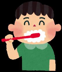 小学生の歯磨き